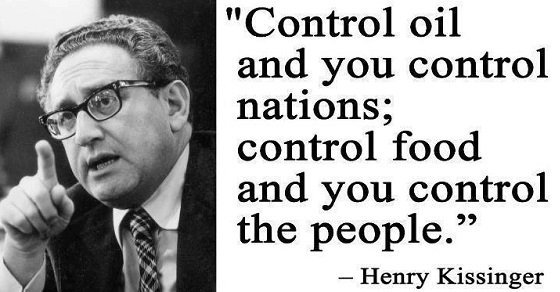 Control Oil control Food Kissinger