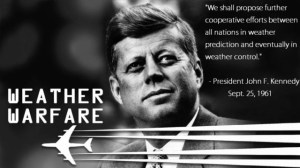Kennedy JFK the Weather Modification Chemtrails Header